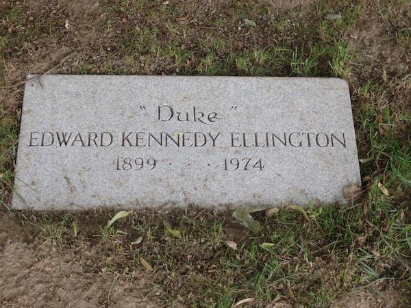 Duke Ellington Woodlawn Cemetery