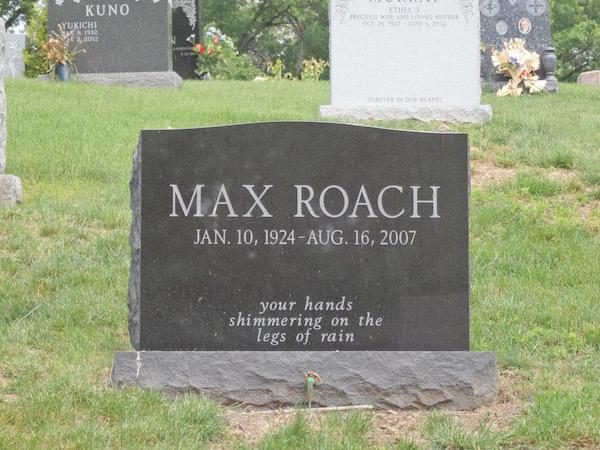 Max Roach Woodlawn Cemetery
